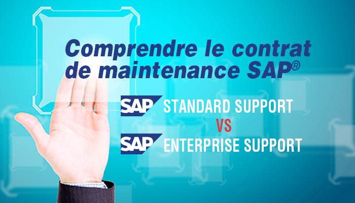 Contrat de maintenance SAP