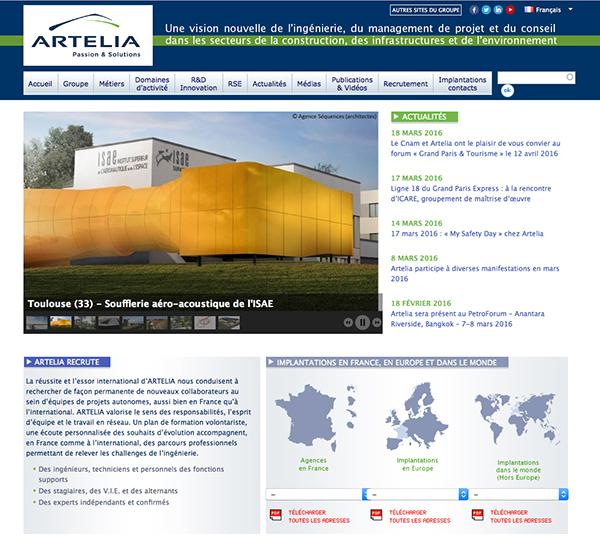 ARTELIA SAP