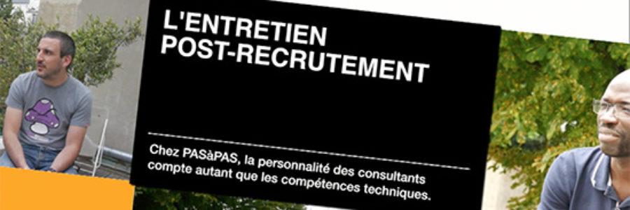 recrutement pasapas