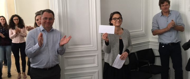 remise cheque hopital