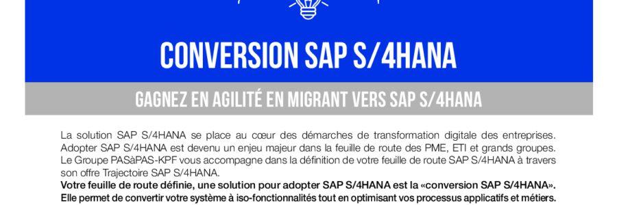 Conversion SAP S4HANA