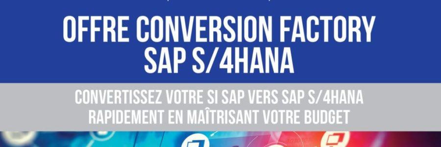 Conversion Factory S4HANA SAP