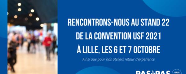 Venez nous rencontrer à la Convention USF 2021